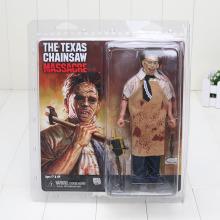 20cm New 40th Anniversary Ultimate Leatherface Classic Terror Movie The Texas Chainsaw Massacre Action Figure