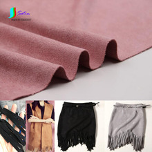 Many Colors Thickening Elastic Imitation Suede Fabric for DIY Tassel Skirt/Sofa Cover Fabric S0716H