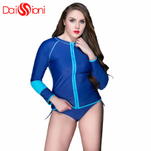 2017 New Women Rash Guard Suit UV Protection Long Sleeves Windsurf Surfing Swimsuit Swimwear Swimming Shirt XXL-5XL