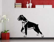 Running Patterned Cute Pet Dog Art Wall Stickers Home Kids Bedroom Loving Decorative Vinyl Special Wall Murals Wall Decal Wm-411