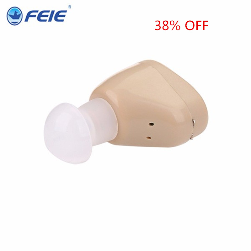 Free shipping rechargeable mini hearing aid sound amplifier S-219 hearing aids for deaf Hot 2018<br>