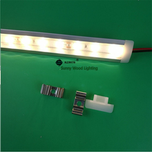 5pcs/lot 24V100cm embedded led bar light ,built in rigid strip ,5630 14W led linear strip for cove ,outline ,furniture profile(China)