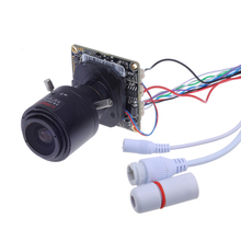 Buy 1080P Network H.265 2.0MP Hi3516CV300 mini IP Camera Board ONVIF 2.8-12mm Manual Varifocal Zoom Lens Plug Play for $27.58 in AliExpress store