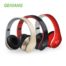 Buy GEXIANG 8818 Bluetooth Headphone BT 4.1 Wireless Headset Foldable Bass Smartphone Gaming Headphone Stereo Earphone for $20.58 in AliExpress store