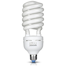 Neewer 45W 110V 5500K Tri-phosphor Spiral CFL Daylight Balanced Light Bulb in E27 Socket for Photo and Video Studio Lighting(China)