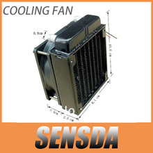SXDOOL 80mm aluminium radiator fan included water cooling