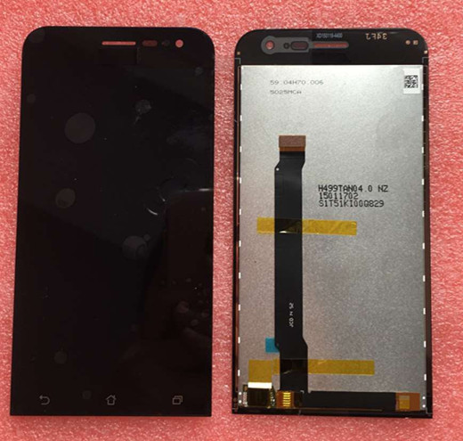 100% Geniune LCD Screen display+touch Digitizer For 5.0 Asus ZenFone 2 ZE500CL Z00D 4G TD/ FDD-LTE free shipping<br><br>Aliexpress