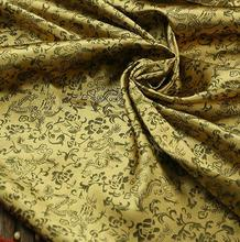 120cm*100cm Dragon pattern jacquard synthetic silk material brocade fabric antique uniforms costume clothing dragon pattern