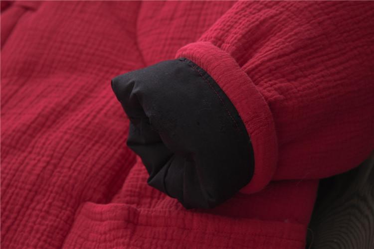 female winter hooded cape (13)
