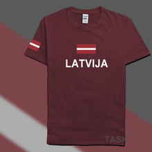 Buy Latvia Latvija men t shirts fashion 2017 jerseys' nation 100% cotton t-shirt clothing tees country sporting flag Latvian LVA for $10.99 in AliExpress store