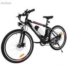 Buy Ancheer 26 inch Wheel Aluminum Alloy Frame Mountain Bike Cycling Bicycle Black US plug for $544.72 in AliExpress store
