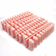 100sheets 2400pcs Classical French Fake Nails Wholesale Short Natural French Nails False Batch Sale Nail Art Store Basic Tools