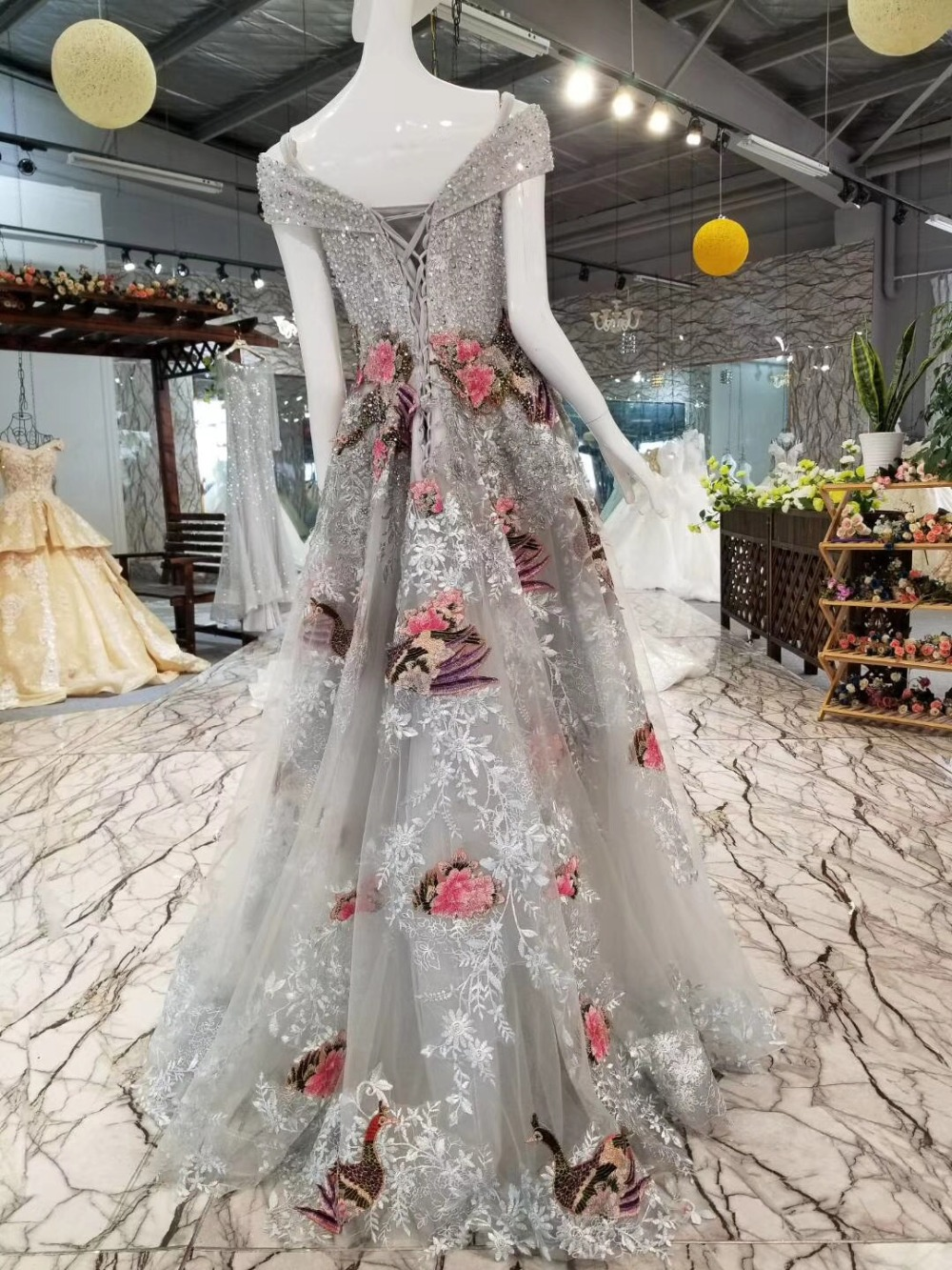 Bling Crystals Celebrity Dresses