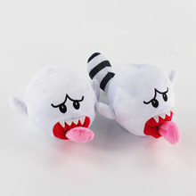 2Style Super Mario Plush Toys Doll White Super Mario Bros Boo Ghost Soft Stuffed Dolls Plush Toys for Kids(China)