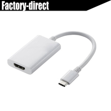 USB 3.1 Type C USB-C to HDMI Adapter for Apple New Macbook macbook pro(USB-C enabled)/Chromebook Pixel/Dell XPS 13(China)
