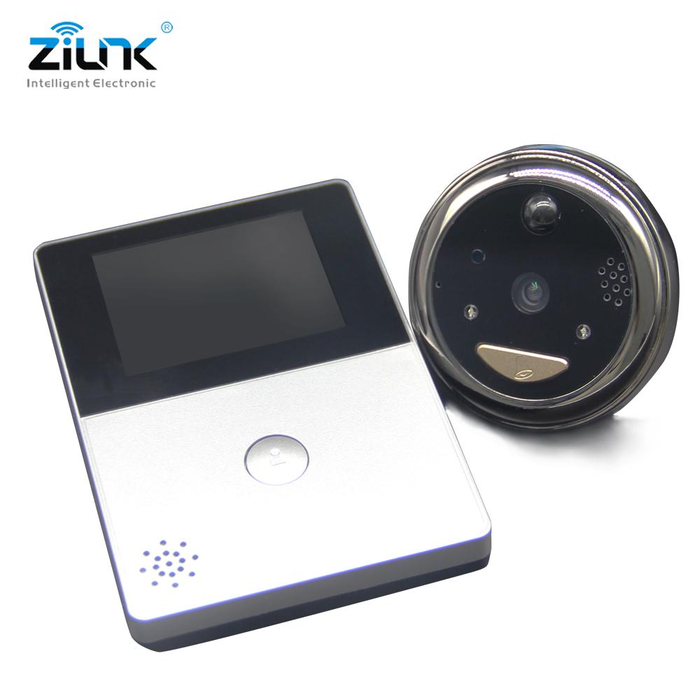 Battery Peephole Video Doorbell Camera Cat Eye_DB32S (4)