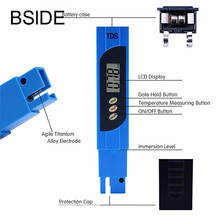 Digital LCD Display TDS Digital Tester Pocket Pen Aquarium Pool Water Quality Test Accurate(China)