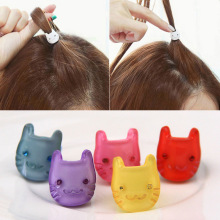Cat Mini Hair Clip For Girl Cartoon Hair Claws Rabbit Hair Ornaments Kid Student   Hair Accessories