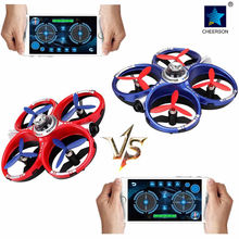 2pcs Cheerson CX60 WIFI Controlled Fighting Drone G-sensor Battle Quadcopter Battleship Gaming Drones