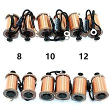 USA Dispatch Tattoo machine coil 0.5mm 8/10/12 Wrap Copper Wire Coils Parts for Shader Liner supplies