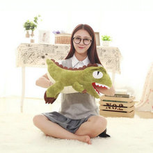 45cm 2017 New Style Cute Dinosaur Plush Toys Winter Hand Warm Cloth Doll Stuffed Plush Dog Cloth Doll birthday gift For Children(China)