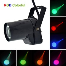 Mini Portable 5W Single Color LED Pinspot Light Strong Spotlights Beam Landscape Lamp DJ Party Show Stage Lighting LE-M01