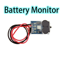 3 In 1 Battery Monitor Discovery Matek Buzzer Signal Loss Alarm RC Lipo Battery Voltage Meter Monitor Tester &Low Voltage Buzzer