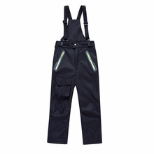 LumiParty children clothing little boys girls ski pants kids winter bib overalls trousers waterproof toddler kids clothing(China)