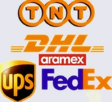 UPS DHL TNT Fedex Aramex ......express Way   and Ohers Freight Charge ...  extra fee for shipping.