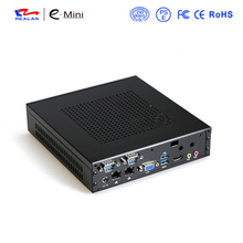 2 Ethernet mini pc Celeron j1900 Win7 / Linux / Windows Desktop Thin client Macro Computer Mini PC dual nic free shipping(China)