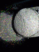 BSYE21-1/256 .004 Holographic Laser SILVER color Makeup Loose Glitter Powder Nail Face Body Cosmetic for free shipping(China)