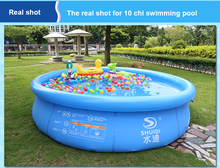 new arrival Inflatable swimming pool Eco-friendly protable Super large above ground pool family ball pool aqua piscina 348x72cm