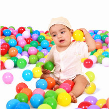 Free shipping quality 50pcs/lot colorful 7cm PE tent water pool ocean wave ball XQ002