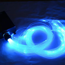 1.0mm(D) PMMA plastic fiber optic cable 1500M/roll f/LED light engine driver star ceiling hanging lamp Wedding Bar DIY Sky decor