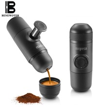 Original Famous Brand Mini Capsule Protable Manual Espresso Maker Coffee Cup Hand Press Coffee Mug Maker Coffee Powder Machine