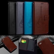 "Retro pattern For Medion Life E5006 case 5"" Wallet Leather + Silicone Flip Stand Capa For Medion Life E5006 MD 60227 Cover coque"