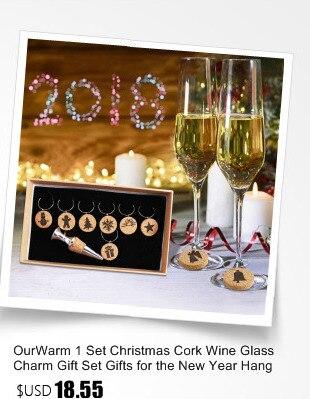 Ourwarm 18 DIY Felt Christmas Tree Pendant Drop Ornaments New Year Gift for Children Kids Door Wall Hanging Xmas Decoration 16