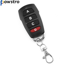 Powstro Wireless Remote Control DC6V 433mhz Electric Garage Door Remote Control Universal For Motorcycle(China)