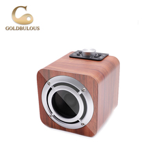 Goldbulous Bluetooth Speaker FM Radio 8W Portable Wireless Mini PA Speaker HiFi Stereo Sound System Music Player for Phone PC(China)