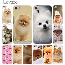 Lavaza Pomeranian dogs dog cute Hard White Coque Shell Phone Case for Apple iPhone 8 7 6 6S Plus 5 5S SE 5C 4S X 10 Cove(China)