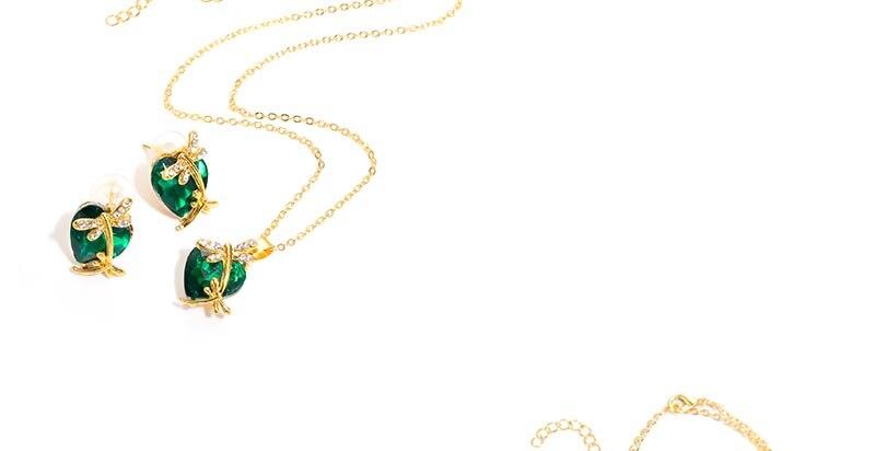 AYAYOO Jewelry Sets Women Gold Color African Beads Jewelry Set Dubai Bridal Luxury Wedding Fashion Necklace Jewellery (4)