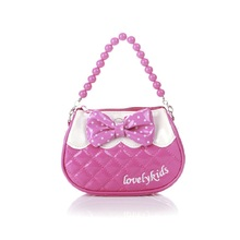 PU leather cute children's coin purse princes small wallets travel cross-body bags money pouches for kindergarten baby girls