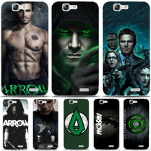 G104 Green Arrow Transparent Hard Thin Skin Case Cover For Huawei P 6 7 8 9 10 Lite Plus Honor 6 7 8 4C 4X G7(China)