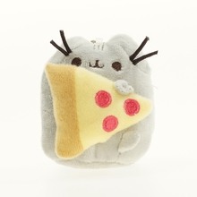 "3"" Tiny Cute Brinquedos Pusheen Cat Chain Toys Christmas Gift"