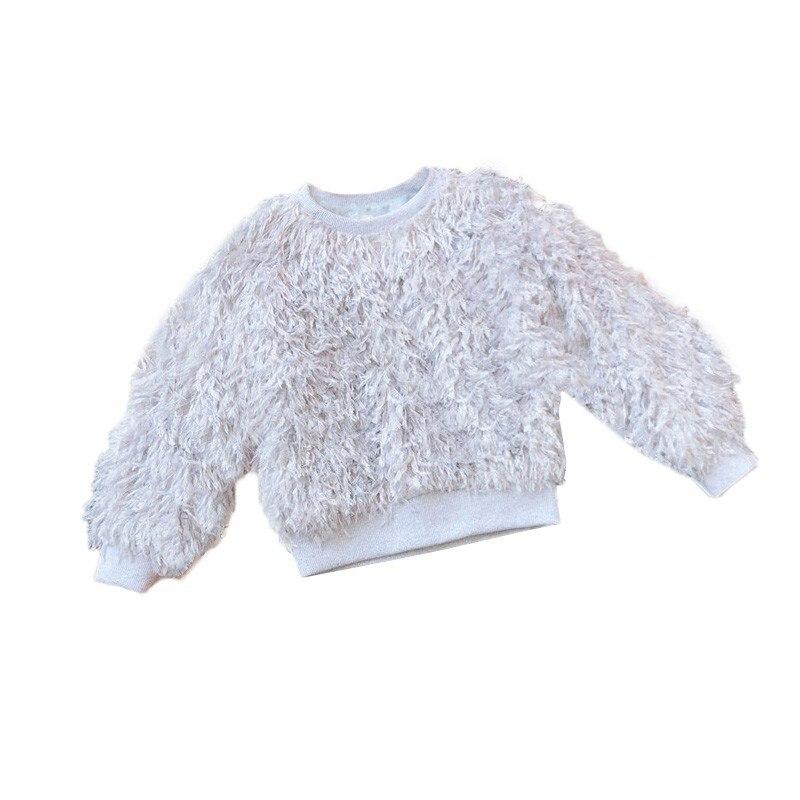Compre Bebé Niñas Suéteres Niños Peludos Ropa Para Niña Suéter De ...