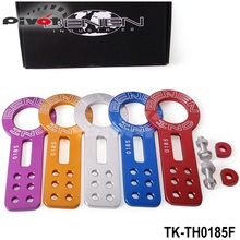Pivot -Anodized Universal Front Tow Hook Billet Aluminum Towing Kit For JDM Racing TK-TH0185F