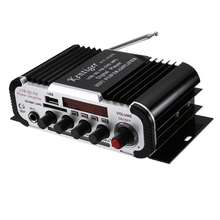Original Speaker Kentiger HY - 600 FM IR Control FM MP3 USB HiFi Stereo Power Digital Amplifier 20Hz/20KHz Mini Portable Wiress