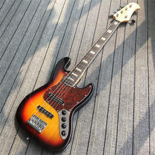 IN STOCK;5strings bass guitar with good finish; Free shipping(China)