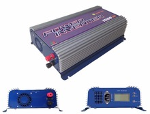 1500W MPPT Grid Tie Solar Inverter 45-90V DC to AC120/230V on Grid solar inverter with LCD display free shipping(China)