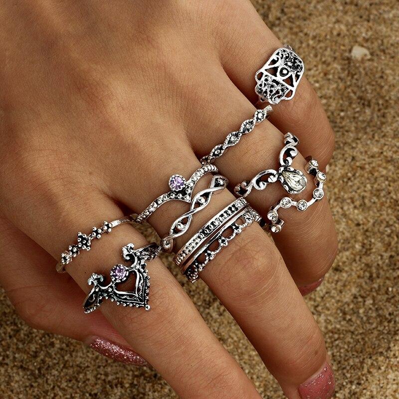 docona-10pcs-Set-Vintage-Antique-Silver-Color-Flower-Knuckle-Midi-Finger-Rings-Set-for-Women-Turkish